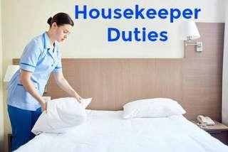 Looking for part time housekeeper