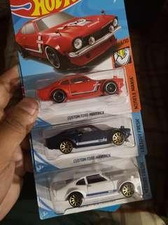 Hot Wheels Custom Ford Maverick Lot of 3
