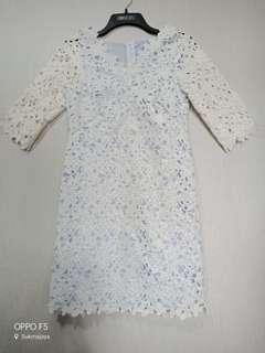 Prada lace Dress / Dress Lace / White Dress