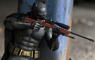 Hot Toys BvS Batman with Tech cowl and Sniper Rifle Exclusive Edition