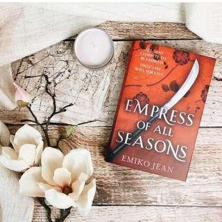 Exclusive Edition Signed Bookplate Empress of All Seasons from Illumicrate
