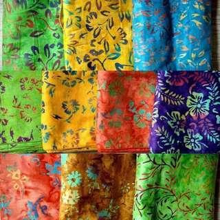 🇮🇩印尼蜡染紮肚布(20米)顏色更新