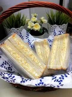 Egg Mayo Sandwich, Sandwich Telur Mayonis