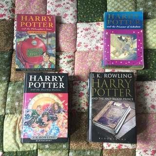 Books (Harry Potter, Psychology, Egypt, Computer, Investment)
