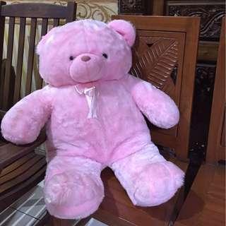 BONEKA BERUANG PINK / PINKY TEDDY BEAR