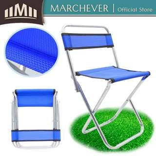Portable Folding Chair Outdoor Camping Fishing Backrest Picnic Stool