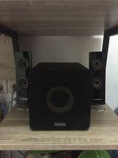 Speaker Simbadda dan Bluetooth