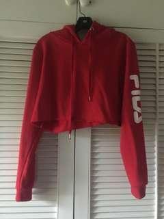 FILA cropped jumper