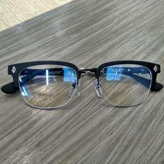 現貨 克羅心 chrome hearts evagilist glasses 眼鏡
