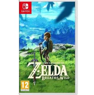 🚚 The Legend of Zelda : Breath of the Wild - Nintendo Switch game