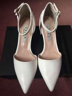 White low heels