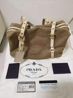 Authentic Prada Canvas Bag