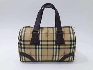 Burberry Vintage Nova Check Speedy Handbag