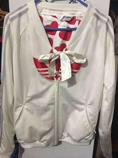 Adidas jacket with bow