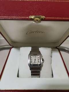 Authentic Cartier Santos Galbee Unisex Watch 29mm