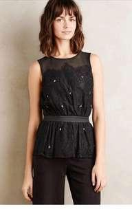 ANTHROPOLOGIE Peplum Top