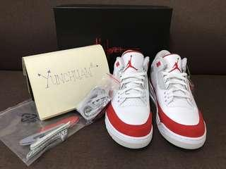"Air Jordan 3 Retro ""Tinker"" US 9.5 (Genuine) #snapendgame"