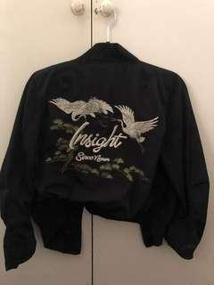 Insight embroidered bomber jacket