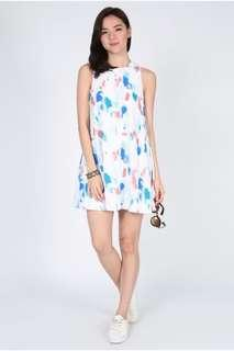 🚚 Love Bonito Diarelle Printed Tie Back Dress