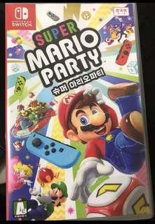 🚚 Nintendo Switch Games Mario party