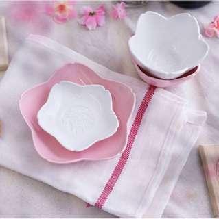 Starbucks Ceramic Sakura Bowls or Saucers/bowls