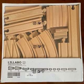 IKEA 木製路軌set