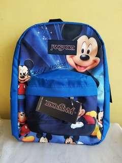 Mickey mouse character large jansport backpack