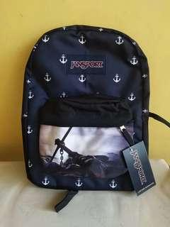 Anchor large limited edition original backpack jansport