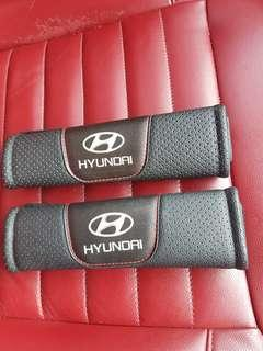 Seat belt cover - hyundai