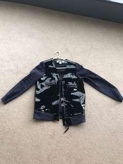 Vintage Marni X HnM leather jacket