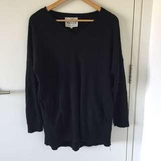 100% cashmere oversized sweater