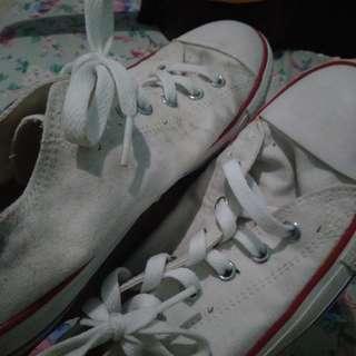 converse sneakers putih white