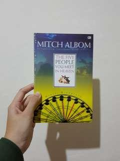 The 5 People You Meet in Heaven - Novel Mitch Albom