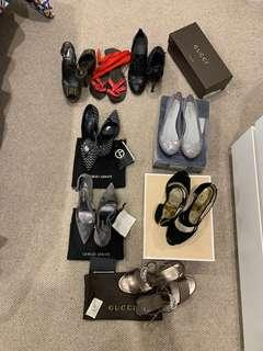 Gucci - Fendi - Armani - Michael Kors shoes