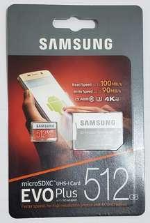 Samsung 512GB SD Card (原價 $2390)
