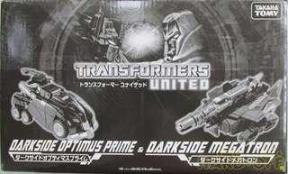 Transformers United - Tokyo Toy Show Exclusive - Darkside Optimus and Megatron