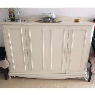 "Custom- Made Shoe Cabinet 60""(w)x42""(h)x15""(d)"