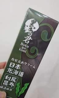 🚚 【全新】日本墨之君利尻昆布健康白髮染(黑色)