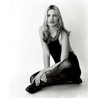 Kate Moss Topshop Black Backless Dress with Studded Leather Collar Detail Size S UK 6 Limited Edition REPRICED