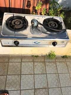Gas Stove and burners