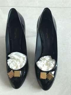 LV 漆皮 39.5號 8cm高,連鞋袋. 穿過兩㳄!冇🉐️輸
