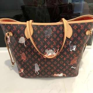 ❗️NO NEGO ❗️Lv Louis Vuitton catogram Neverfull MM
