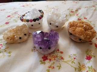 🚚 [NEW Stock] Hedgehog Crystal Cluster