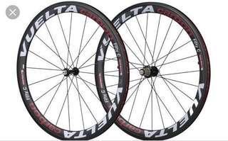 *Fire Sale* Vuelta Carbon 50 Clincher Wheelset