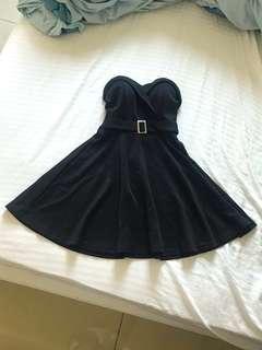 🚚 轉賣 縮腰傘襬平口洋裝