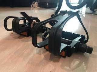 LN - Toe Clip Pedals
