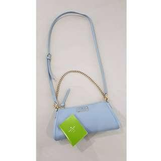 Kate Spade Gorgeous Sling Bag, original, brand new from US - blue