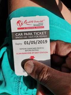 🚚 Resort World Sentosa - Per Entry Parking