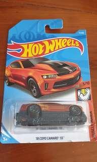 Hotwheels '18 copo Camaro ss