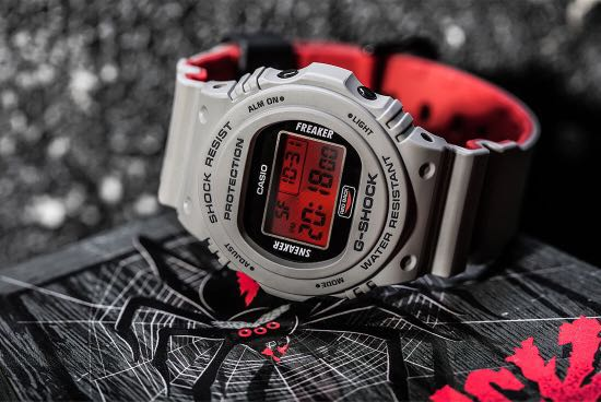 eeadf8669fb3 100% Authentic New Casio G-Shock Sneaker Freaker Collabration Dw ...